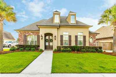 Houma Single Family Home For Sale: 282 Riverwood Drive