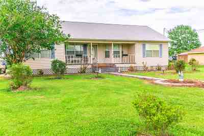 Thibodaux Single Family Home For Sale: 802 Forty Arpent Road