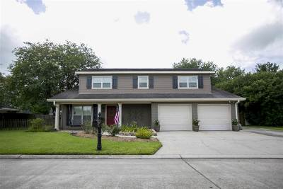 Thibodaux Single Family Home For Sale: 108 Hermitage Drive
