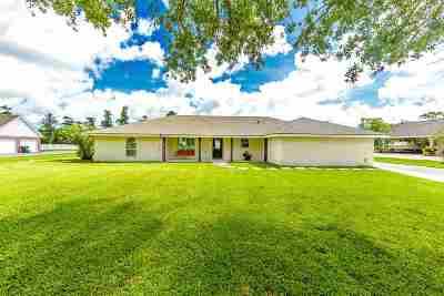 Houma Single Family Home For Sale: 121 Ouiski Bayou Drive