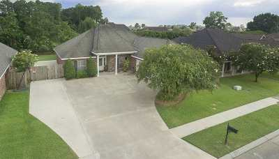Houma Single Family Home For Sale: 169 Tigerlily Drive