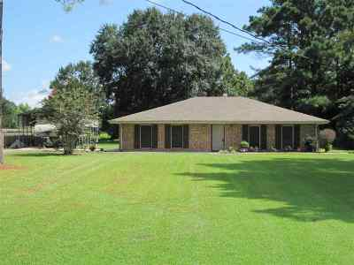 Bourg Single Family Home For Sale: 4353 Ferry Road
