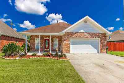 Houma Single Family Home For Sale: 144 Tigerlily Drive