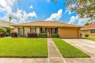 Houma Single Family Home For Sale: 117 Chantilly Drive