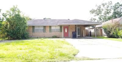 Houma Single Family Home For Sale: 312 Harding Drive