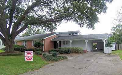 Thibodaux Single Family Home For Sale: 206 Bayou Lane