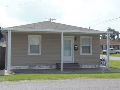 Thibodaux Single Family Home For Sale: 1000 Caroline Street