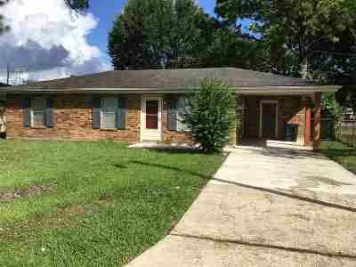 Houma Single Family Home For Sale: 228 Fairmont Drive