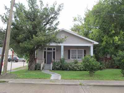 Morgan City Single Family Home For Sale: 1130 Front Street