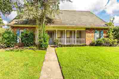 Houma Single Family Home For Sale: 303 Amarillo Drive