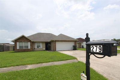 Houma Single Family Home For Sale: 279 Revere Lane