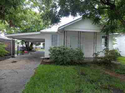 Morgan City Single Family Home For Sale: 606 General Patton