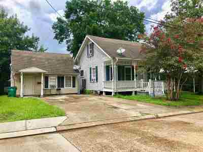 Morgan City Single Family Home For Sale: 501 & 501 B Louisa Street
