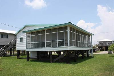 Grand Isle, Fourchon Single Family Home Under Contract: 131 Carondelet