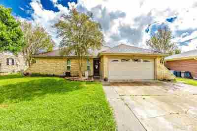 Houma Single Family Home For Sale: 3010 Creole Drive