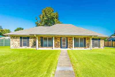 Thibodaux Single Family Home For Sale: 306 College Lane