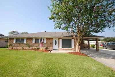 Houma Single Family Home For Sale: 12 J Circle