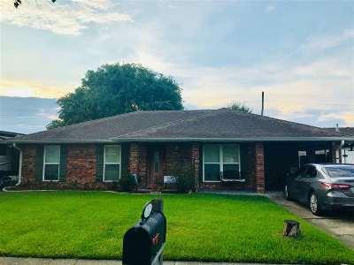 Houma Single Family Home For Sale: 1610 Coral Drive