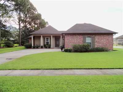 Thibodaux Single Family Home For Sale: 209 Waverly Road