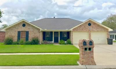 Houma Single Family Home For Sale: 206 Myrick Drive