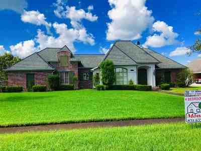 Houma Single Family Home For Sale: 204 Lake Decade Court