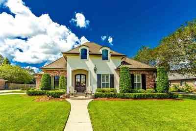 Thibodaux Single Family Home For Sale: 219 Davis Drive