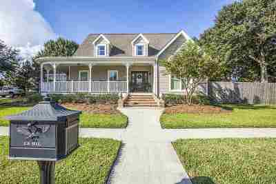 Houma Single Family Home For Sale: 1611 Harvest Drive