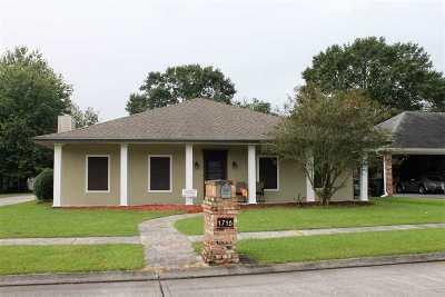 Houma Single Family Home For Sale: 1716 Joshua Drive