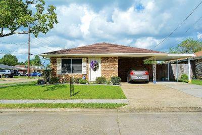 Houma Single Family Home For Sale: 1401 Brooke Street