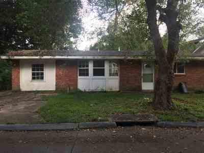 Houma Single Family Home For Sale: 1502 Memory Lane