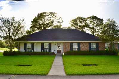 Thibodaux Single Family Home For Sale: 1101 Lee Drive