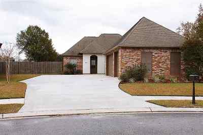 Thibodaux Single Family Home For Sale: 182 Lake Accardo Avenue