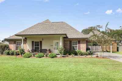 Thibodaux Single Family Home For Sale: 1406 Park Drive