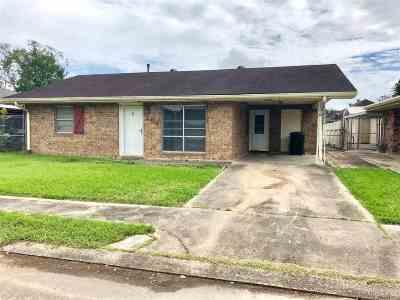 Houma Single Family Home For Sale: 204 Leslie Street