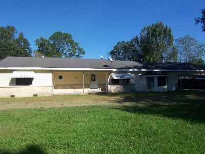 Gray Single Family Home For Sale: 316 Bayou Blue Bypass Road