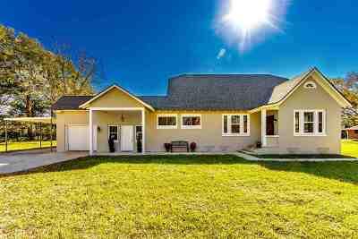 Houma Single Family Home For Sale: 1715 Bayou Black Drive
