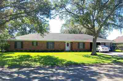 Thibodaux Single Family Home For Sale: 212 Rienzi Drive