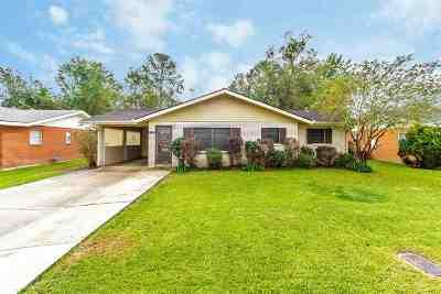 Morgan City Single Family Home For Sale: 1422 Fairmont Avenue
