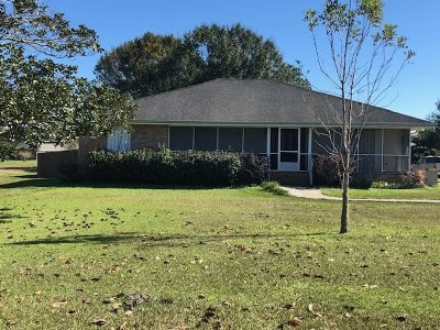 Bourg Single Family Home For Sale: 4021 Bayouside Drive
