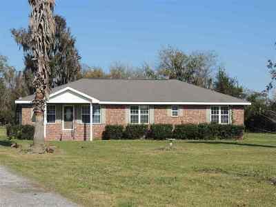 Houma Single Family Home For Sale: 620 B Bayou Blue Road