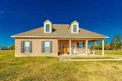 Thibodaux Single Family Home For Sale: 1000 Bayou Blue Bypass Road