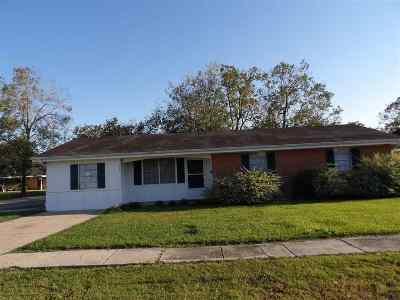 Houma Single Family Home For Sale: 501 Buquet Street