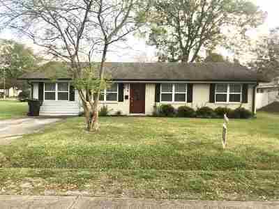 Houma Single Family Home For Sale: 504 Mire Street