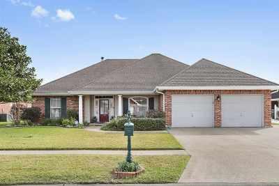 Houma Single Family Home For Sale: 114 Aubrey Drive