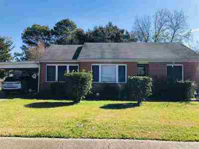 Houma Single Family Home For Sale: 135 Cleveland Street