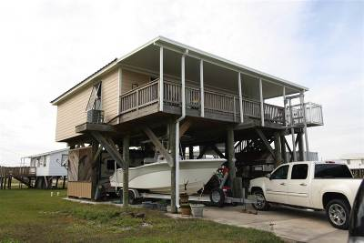 Grand Isle, Fourchon Single Family Home For Sale: 133 Palm Lane