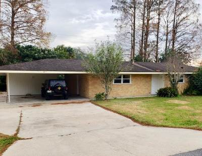 Thibodaux Single Family Home For Sale: 807 Edgewood Drive