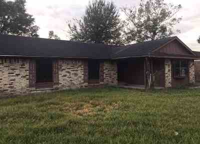 Houma Single Family Home For Sale: 3630 Thomas Drive