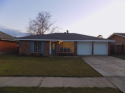 Morgan City Single Family Home For Sale: 3126 Tammy Drive
