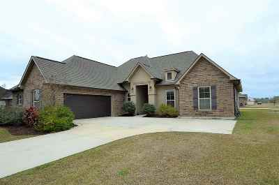 Thibodaux Single Family Home For Sale: 500 Dax's Place